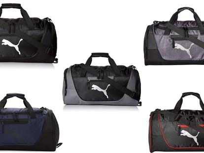 Esta maleta, disponible en cinco colores, es ideal para guardar tus cosas del gimnasio o para un viaje corto
