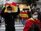 14/05/20. (DVD 1000). Proresta contra el Gobierno en el barrio de Salamanca en Madrid. Jaime Villanueva.