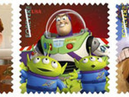 El servicio postal de los Estados Unidos dedica esta serie a sus personajes.