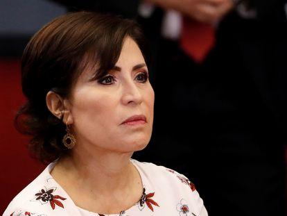 La exsecretaria de Estado mexicana Rosario Robles, en 2018.
