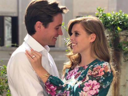 La princesa Beatriz y su prometido, Edoardo Mapelli Mozzi.
