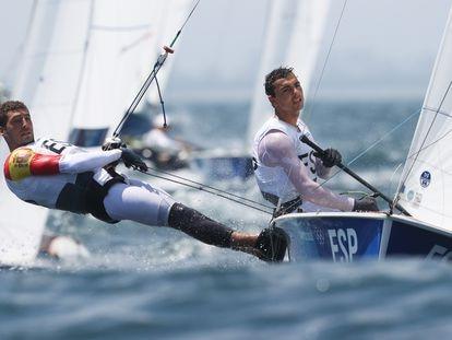 Jordi Xammar y Nicolás Rodríguez, medalla de bronce en el 470,