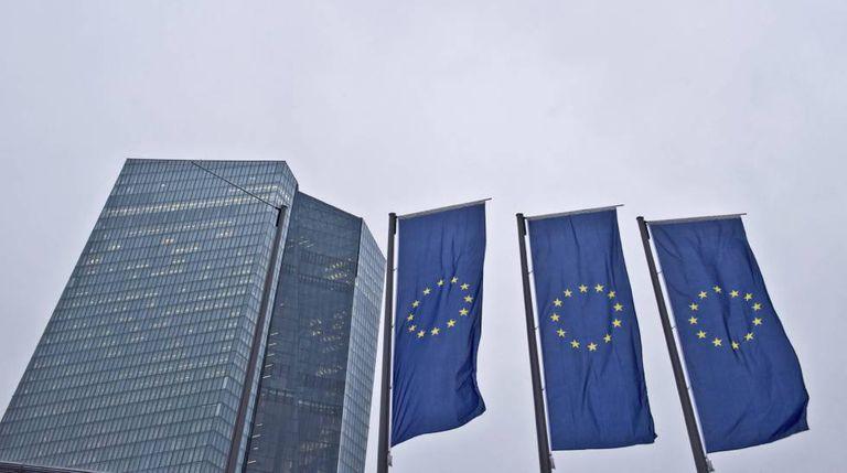Sede del Banco Central Europeo (BCE) en Fráncfort (Alemania).