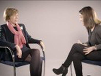 La historiadora Rosa Mª Capel y la líder de FEMEN España, Lara Alcázar, analizan la evolución de la lucha por la igualdad