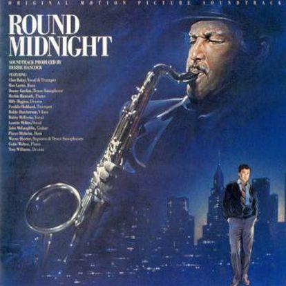 Portada de la banda sonora de 'Round Midnight'.