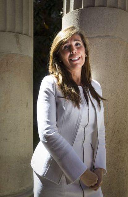 Alicia Sánchez-Camacho, el miércoles, en el Parlamento catalán.