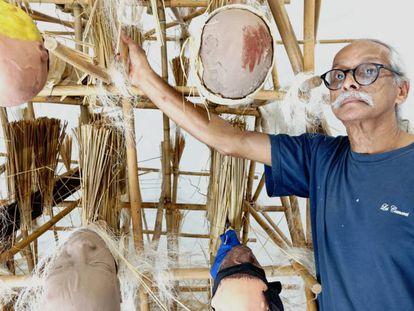 El artista Jack Beng-Thi.