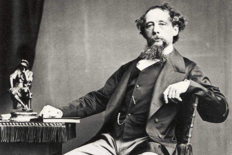 Charles Dickens (1812-1870).