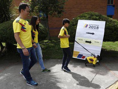 Las elecciones colombianas compiten con el Mundial de Rusia.