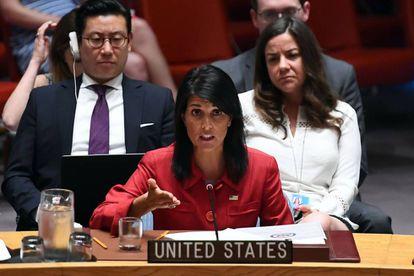 Nikki Haley, en una comparecencia del pasado 5 de julio en la ONU sobre Corea del Norte.