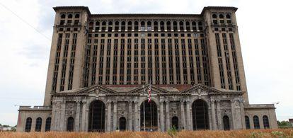 La abandonada Michigan Central Station, en Detroit.