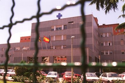 Antiguo hospital de San Millán, en Logroño, en 1998.