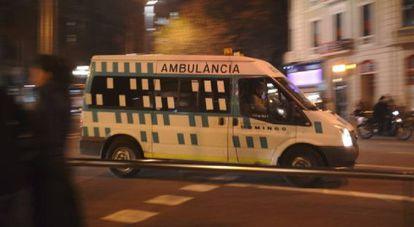 Una ambulancia, en una imagen de archivo.