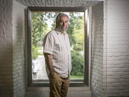 Antonio Muñoz Molina, retratado en Madrid este miércoles.