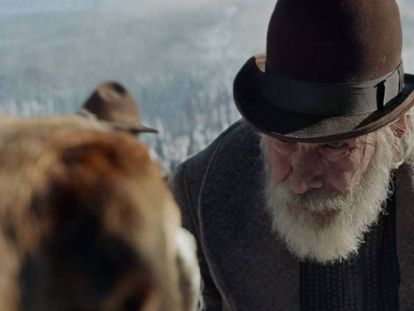 Harrison Ford en 'la llamada de lo salvaje'. En vídeo, un avance de la película.