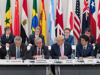 Reunión del G20 en Osaka (Japón) el pasado 28 de junio.