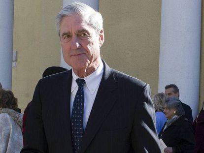 Robert Mueller, el pasado 24 de marzo, en Washington. En vídeo, así presentó Barr su informe.