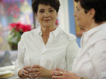 La escritora Marian Izaguirre, la semana pasada en Madrid.