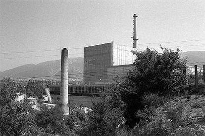 La central nuclear de Santa María de Garoña, en la provincia de Burgos.