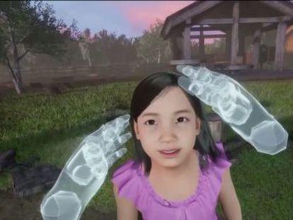 Un documental surcoreano muestra el momento en el que una mujer interactúa con la recreación en tres dimensiones del familiar que perdió hace tres años