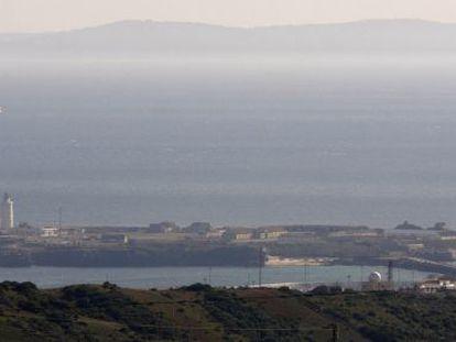 Vista general de la isla Las Palomas, en Tarifa (Cádiz).
