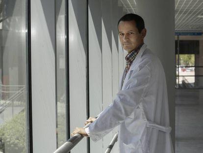 Ignacio Bernardino, especialista en envejecimiento de personas con VIH.