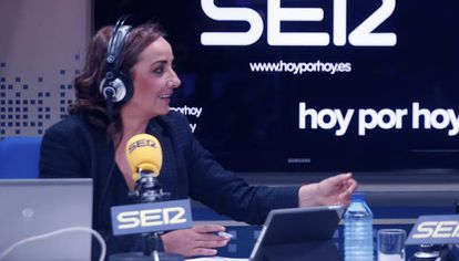 La periodista Pepa Bueno en 2015.