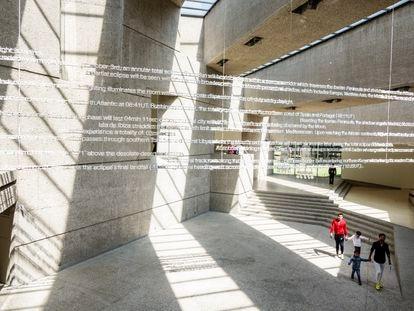 Vista del Museo de Arte Contemporáneo de Ciudad de México.