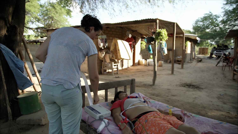 Mundo Sano atiende en sus centros de salud a mujeres embarazadas que habitan la región fronteriza.