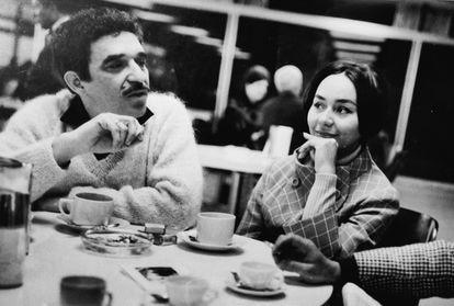 Gabriel García Márquez y Mercedes Barcha, en España en 1968.
