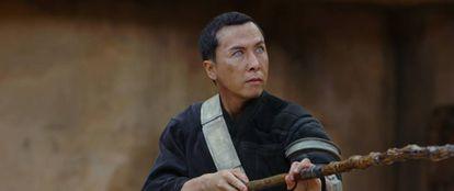Donnie Yen, en 'Rogue One'.