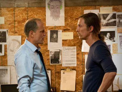 Woody Harrelson y Matthew McConaughey, en una imagen de la primera temporada de 'True Detective'.