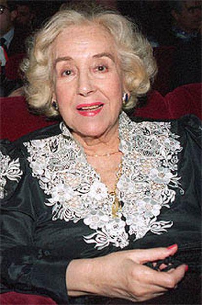 La actriz Mari Carmen Prendes.