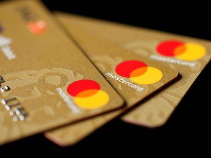 Tarjetas de crédito Mastercard.