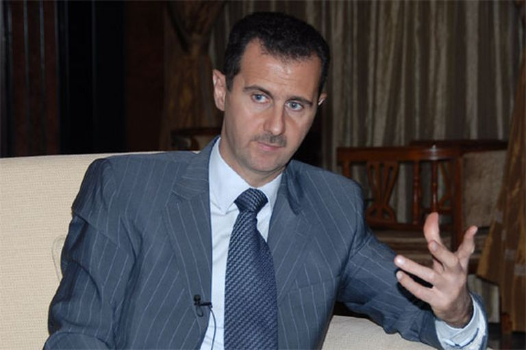 El presidente sirio, Bachar el Asad, en Damasco