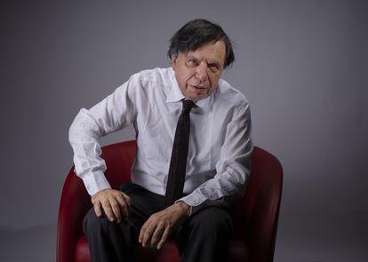 Giorgio Parisi posa el pasado viernes tras ser reconocido con el Nobel de Física.