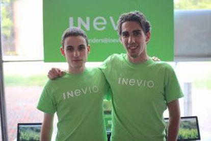 Javier Garmón y Roberto Gómez.