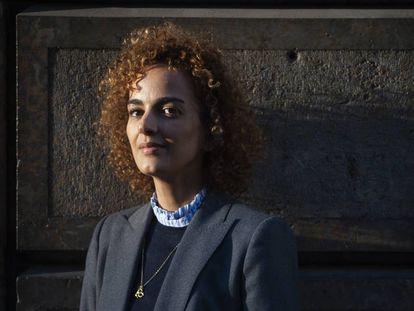 La escritora Leila Slimani.