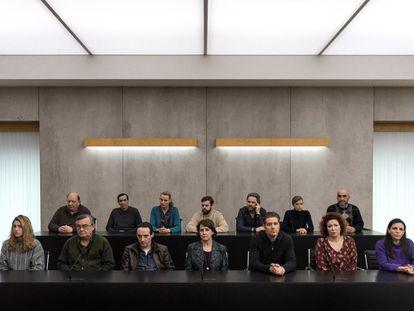 Imagen de la serie belga 'El jurado'.