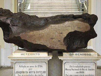 Meteorito de Bendegó.