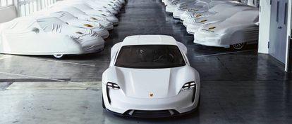 El Mission E de Porsche.