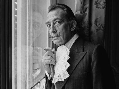 Salvador Dalí en 1964. Terry Fincher Getty