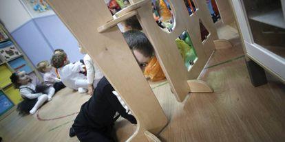 Una escuela infantil en Madrid.