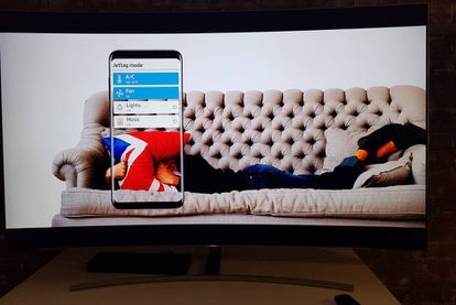 El Galaxy S8 puede funcionar como un mando multiusos para accionar la lavadora, el aire acondicionado o el televisor.