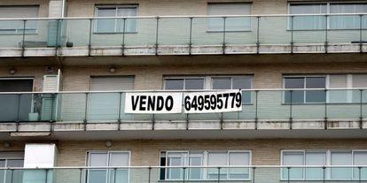 Una vivienda a la venta en un inmueble de Valencia.