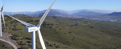 Parque eólico Merengue, en Extremadura.