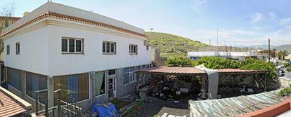 La casa de Fernando Torres Baena en la playa de Vargas (Agüimes, Gran Canaria).