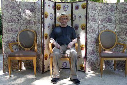 Lars von Trier en Cannes tras ser expulsado del festival y ser declarado persona <i>non grata</i>.