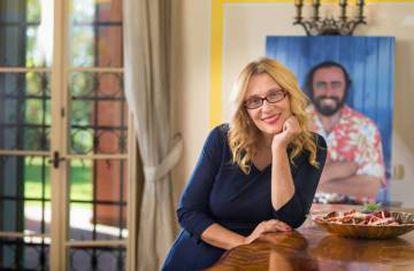 La viuda de Luciano Pavarotti, Nicoletta Mantovani.