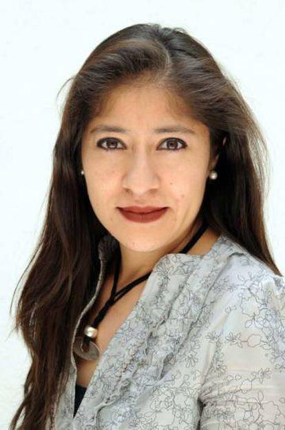 La periodista mexicana Lilia Saúl, una de las premiadas por 'Desaparecidos'.
